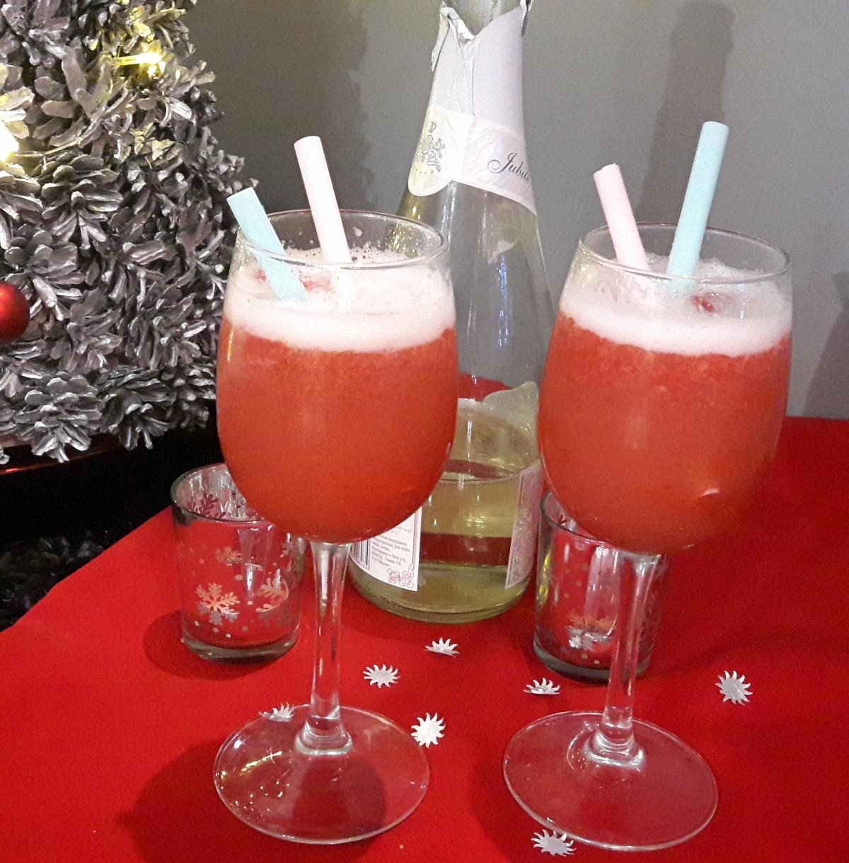 Truskawkowy szampan