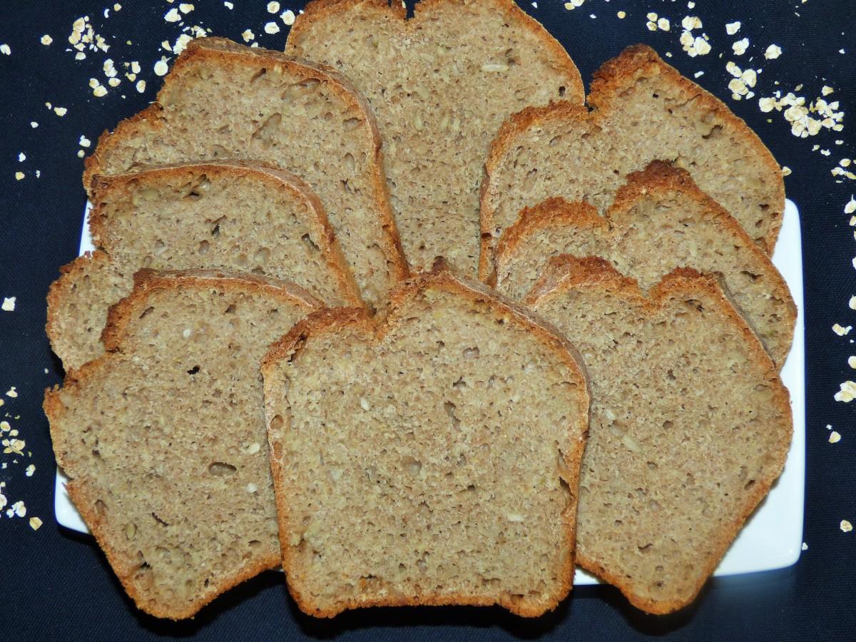 Pyszny chleb pszenno - orkiszowy na drożdżach