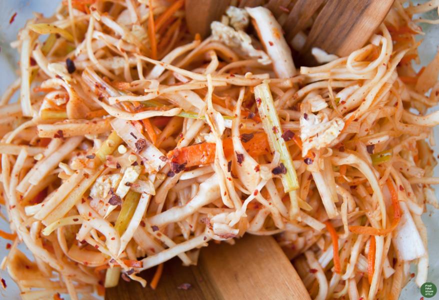 Surówka z kapusty a'la kimchi