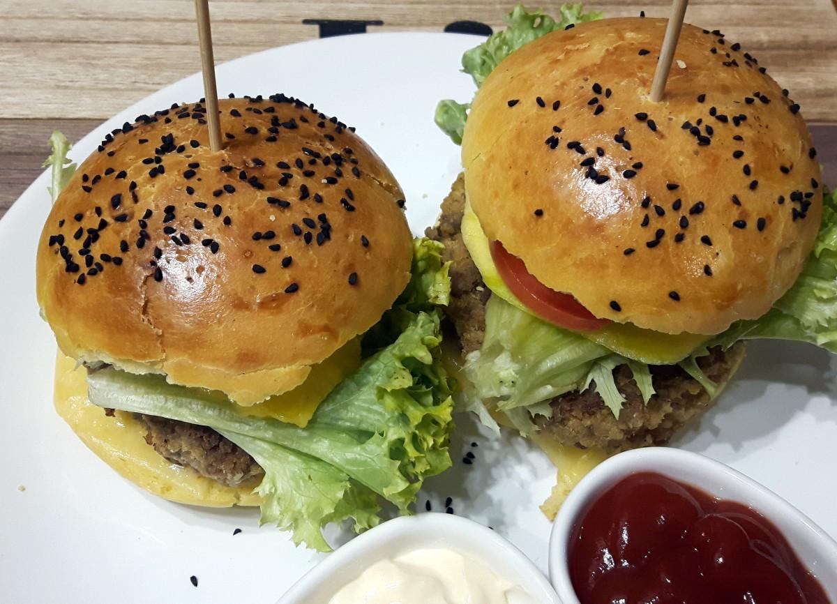 burgery wołowo-jaglane