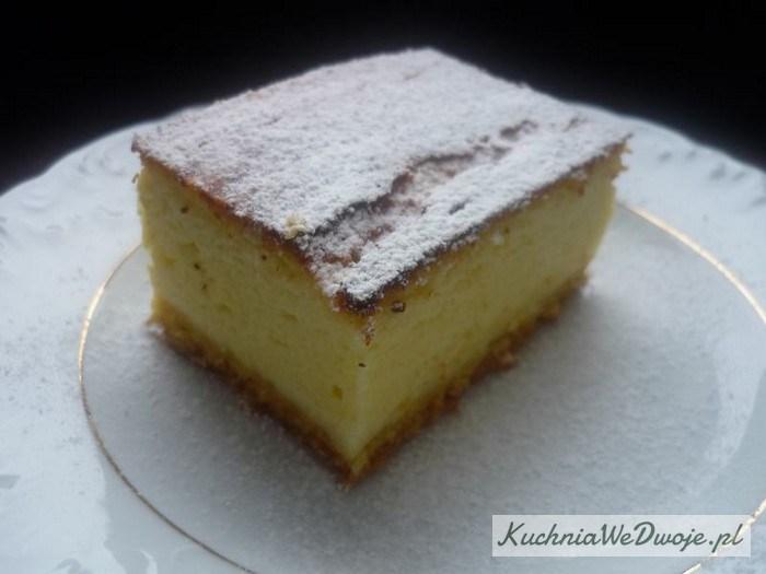 Ciasto Puszysty sernik