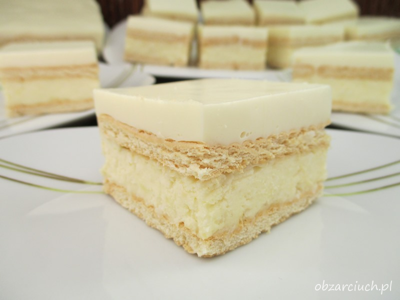 Ciasto kokosowo - cytrynowe bez pieczenia