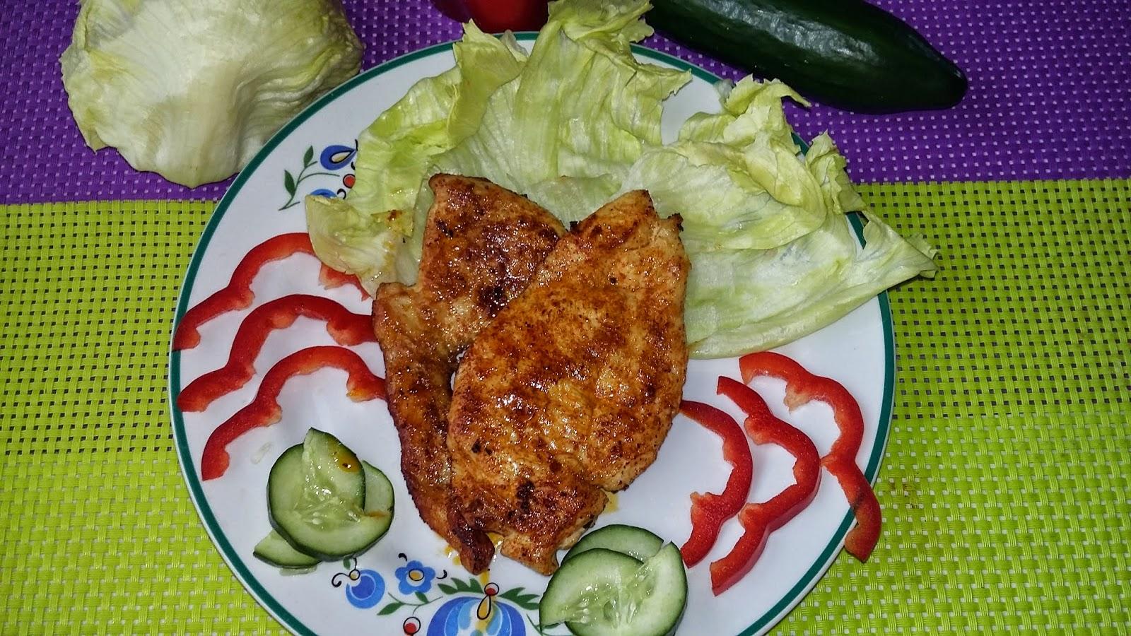 Piersi z kurczaka na ostro i łagodnie
