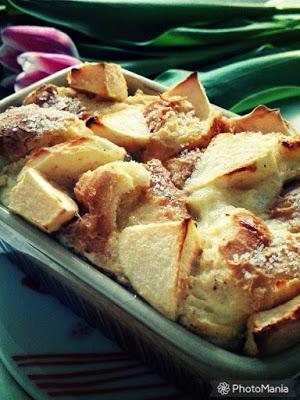 Pudding z jabłkiem