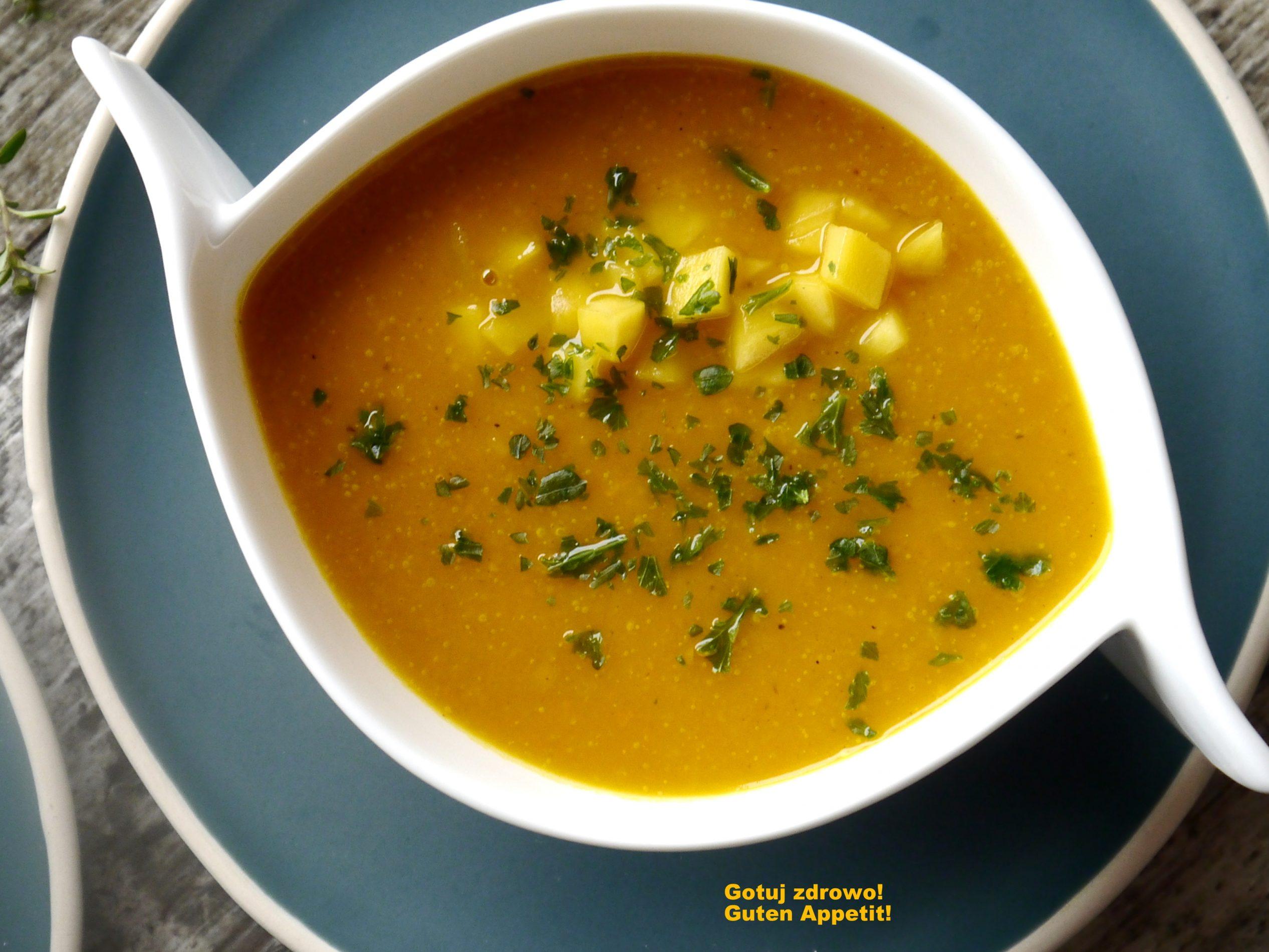 Przepisy na dyniowe zupy