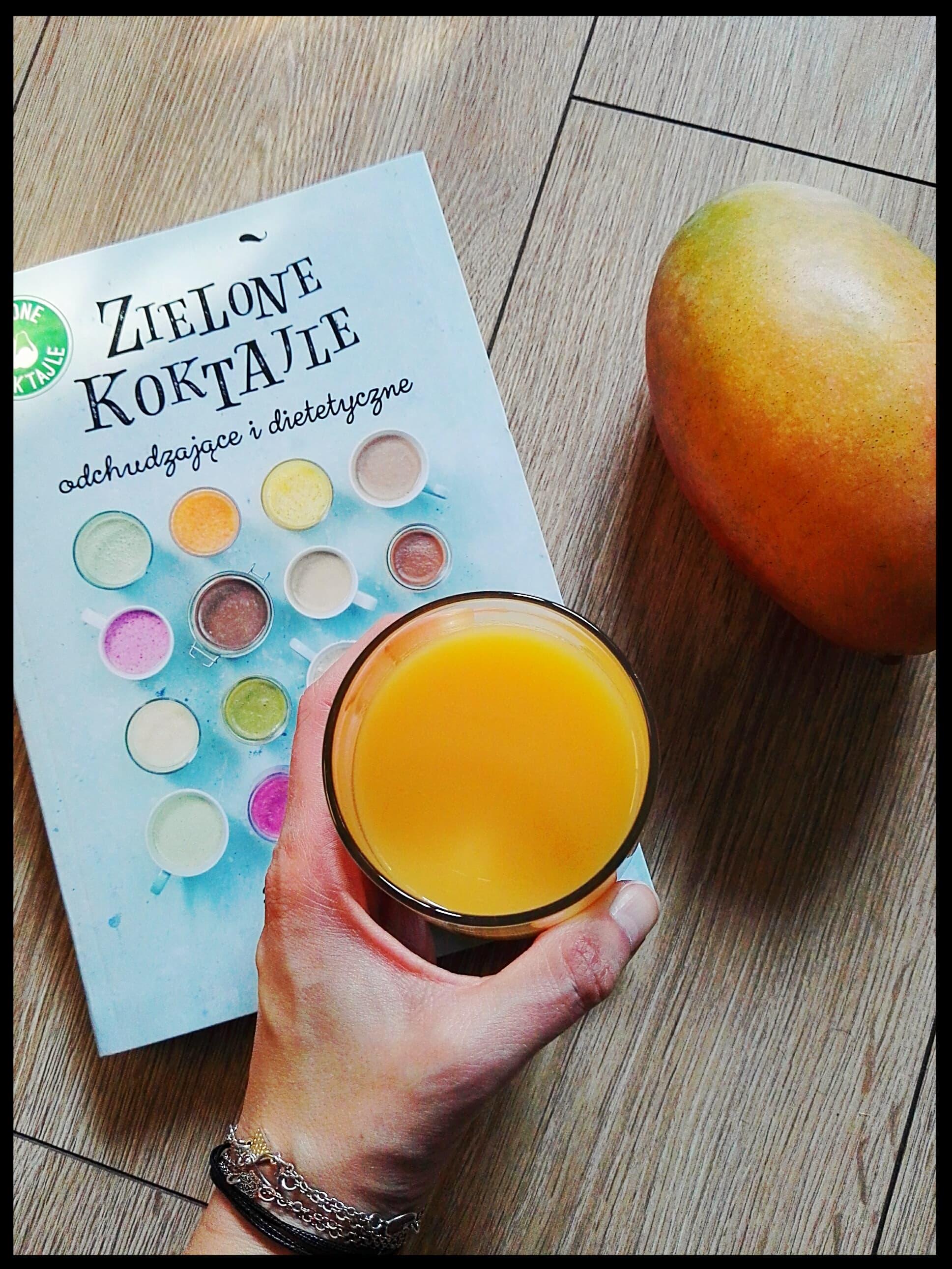 Smoothie-Gruszka-Mango-Biała Herbata