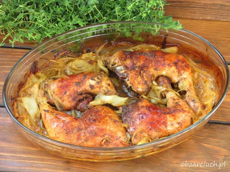Kurczak w cebuli