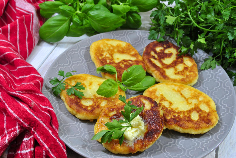 Moskole – placki z gotowanych ziemniaków