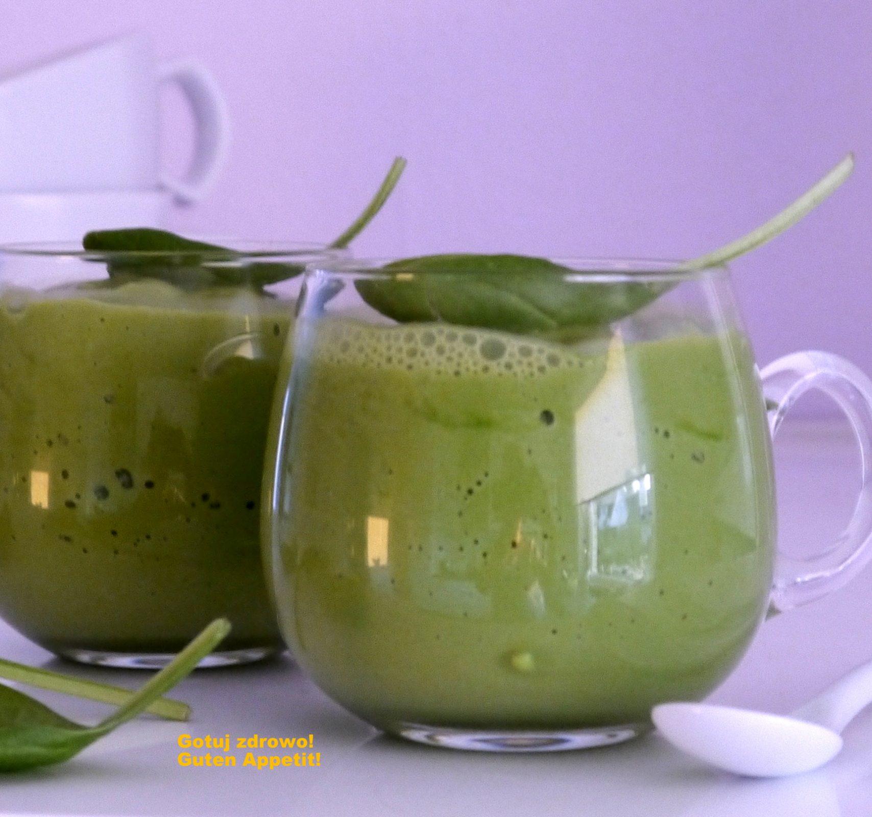 Zielony koktajl na zdrowe jelita
