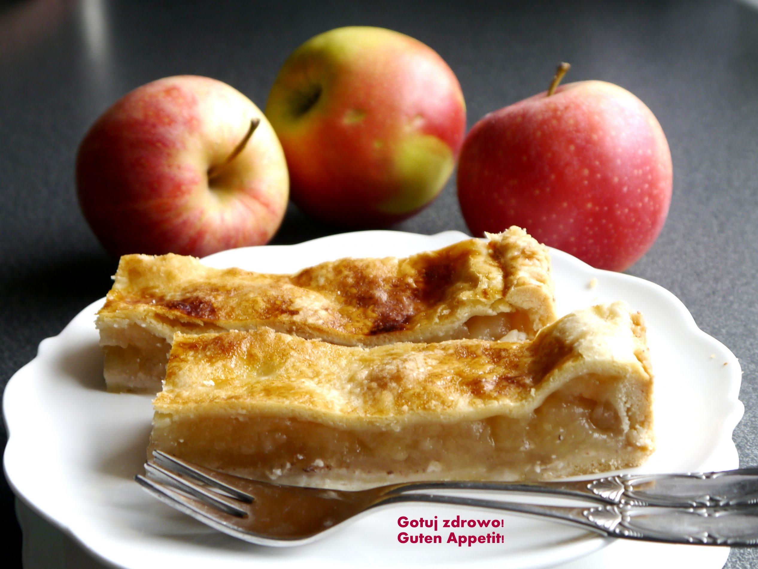Amerykańska szarlotka - Aplle pie