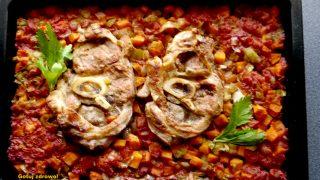 Ossobucco alla milanese - gicz cielęca w warzywach