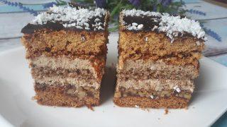 Ciasto orzechowo miodowe siostry Anastazji