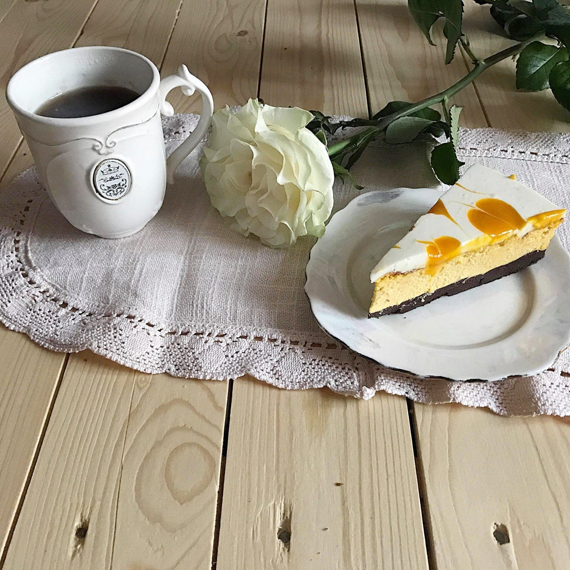 Tarta dyniowo-pomarańczowa
