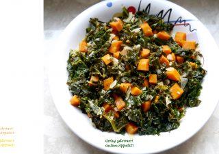 Jarmuż z karmelizowaną marchewką - dodatek obiadowy