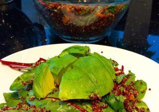 Super Zdrowa sałatka z awokado i komosy ryżowej