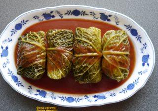 Gołąbki z włoskiej kapusty i indyka - zdrowszy przepis