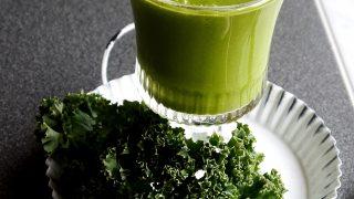Jarmużowy szejk na zdrowie! Zielony detoks