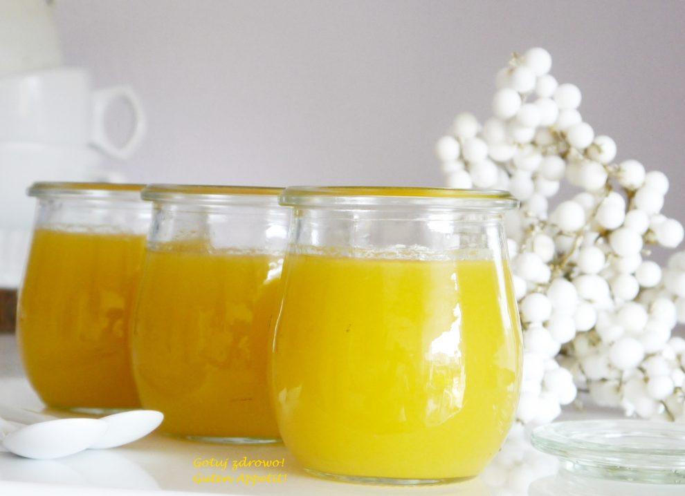 Egzotyczny kisiel z mango