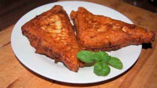 Toskańskie tosty śniadaniowe , nadziewane