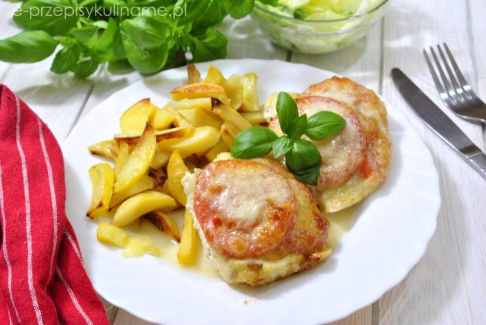 Przepis na Ryba zapiekana z pomidorami i mozzarellą