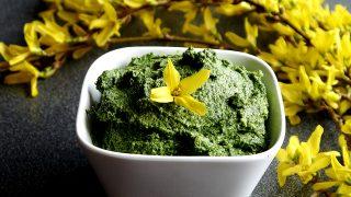 Przepis na Pesto ze szpinaku i awokado