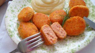 Przepis na Pulpeciki z łososia i ziemniaków