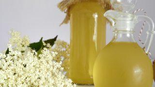 Syrop z kwiatów czarnego bzu (bez cukru)