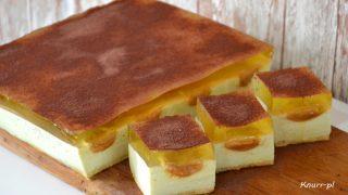 Ciasto Słodki cytrynowiec