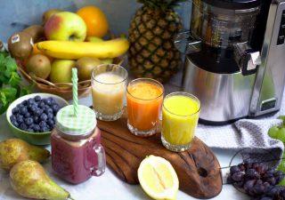 8 pomysłów na pyszne soki + test wyciskarki wolnoobrotowej