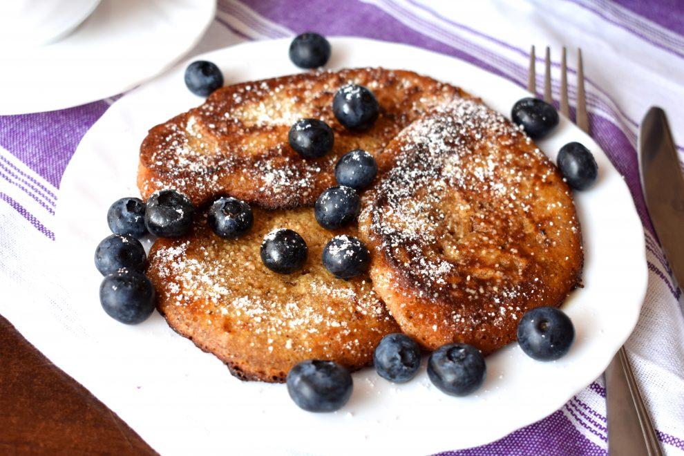 Pancakes bezglutenowe + filmik