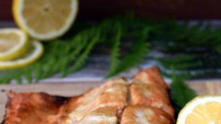 Łosoś z grilla - pyszny