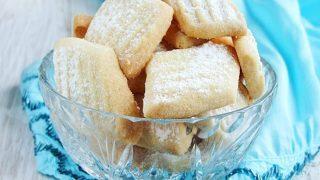 un kurabiyesi - przepyszne tureckie maślane ciasteczka