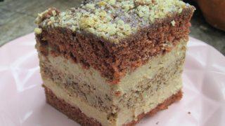 Przepyszne ciasto Orzechowe Cappucino