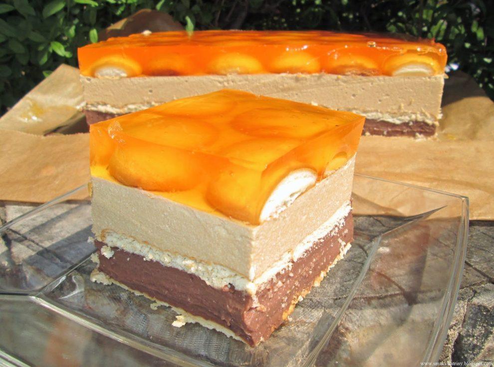 """Ciasto """"Mały Książę""""-czekoladowo-kawowe z mlekiem w proszku bez pieczenia"""