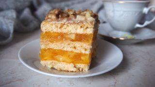 Ciasto Orzechowa pokusa
