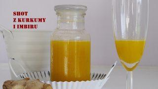 Shot z kurkumy i imbiru - mikstura na odporność i przeziębienie