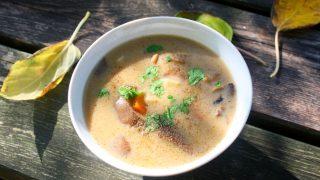 Śmietankowa, delikatna zupa grzybowa