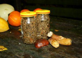 Pasta grzybowa z grzybowych nóżek
