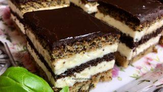 Pocałunek Murzyna - ciasto