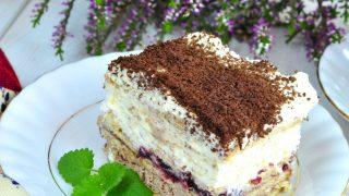 Księżniczka – szybkie ciasto bez pieczenia + FILM