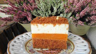 Ciasto Marchewkowe Przekładane