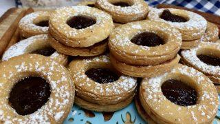 Ciasteczka z oczkiem