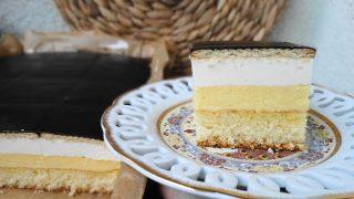 Ciasto Kostka Pomarańczowa