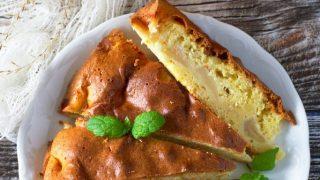 Maślane (ucierane) ciasto z jabłkami - pyszne!
