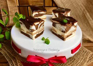 Łaciata Krówka - ciasto