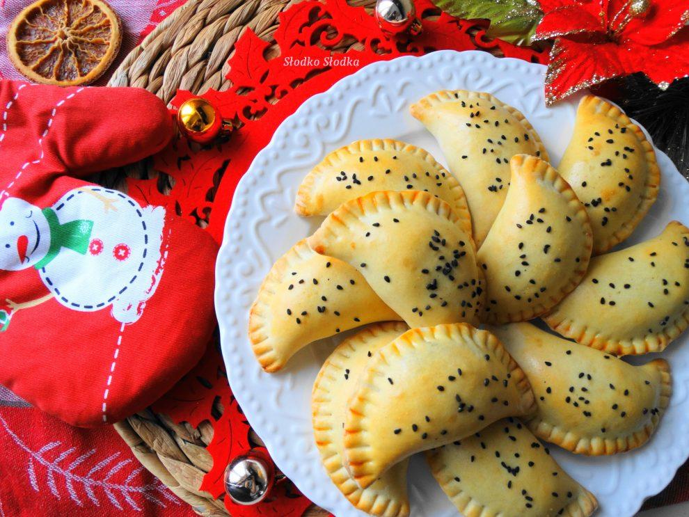 Pieczone Pierogi z Kapustą-Ciasto na Kefirze