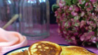 Placuszki z mleka w proszku