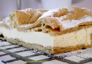 Ciasto Karpatka domowa