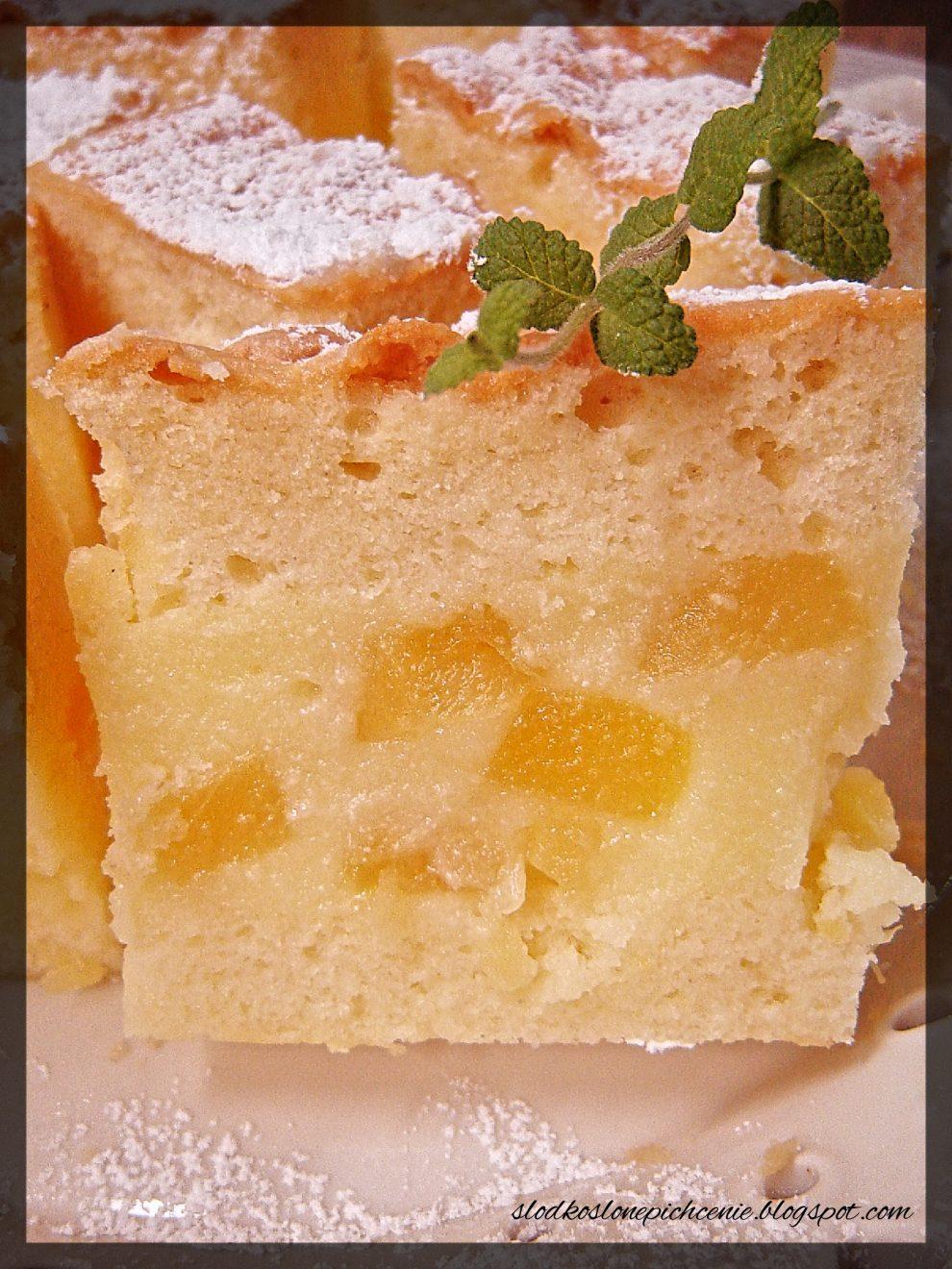 Ciasto cytrynowo-ananasowe