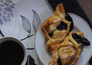 Ciastko Francuskie z czarnym bzem
